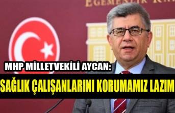 Milletvekili Aycan: Sağlık Çalışanlarını Korumamız Lazım