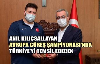 Büyükşehir'in Sporcusu Anıl, Türkiye'yi Temsil Edecek