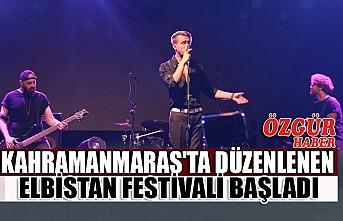 Kahramanmaraş'ta Düzenlenen Elbistan Festivali Başladı