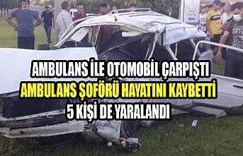 Kahramanmaraş'ta Trafik Kazası, Ambulans Şoförü Hayatını Kaybetti