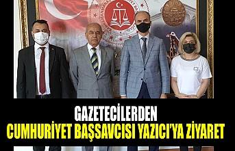 Gazetecilerden Cumhuriyet Başsavcısı Yazıcı'ya Ziyaret