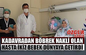 Kadavradan Böbrek Nakli Olan Hasta İkiz Bebek Dünyaya Getirdi