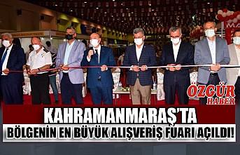 Kahramanmaraş'ta Bölgenin En Büyük Alışveriş Fuarı Açıldı!