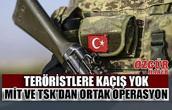 MİT ve TSK'dan Ortak Operasyon