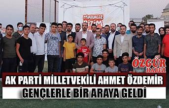 AK Parti Milletvekili Ahmet Özdemir Gençlerle Bir Araya Geldi