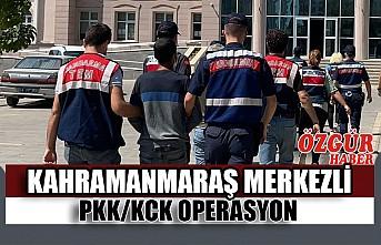 Kahramanmaraş Merkezli PKK/KCK Operasyon