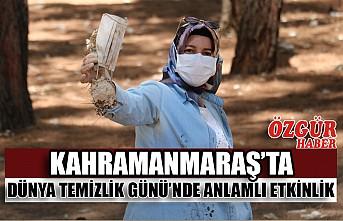 Kahramanmaraş'ta Dünya Temizlik Günü'nde Anlamlı Etkinlik