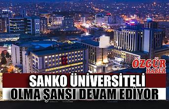 SANKO Üniversiteli Olma Şansı Devam Ediyor