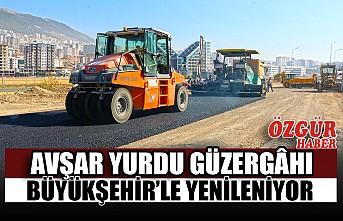 Avşar Yurdu Güzergâhı Büyükşehir'le Yenileniyor