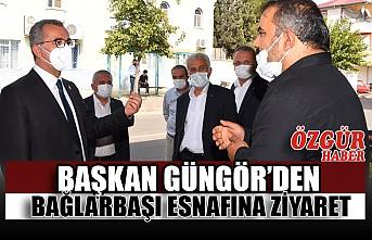 Başkan Güngör'den Bağlarbaşı Esnafına Ziyaret
