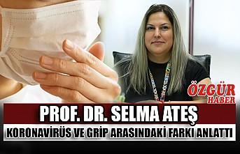 Prof. Dr. Selma Ateş Koronavirüs ve Grip Arasındaki Farkı Anlattı