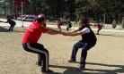 Akmod Ve  İtfaiyeciler, Eğitim Ve Spor Kampında