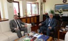 Başkan Aydın, Rektör Can'ı Ziyaret Etti
