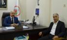 Başkan Kozak'tan Ticaret İl Müdürü Uçar'a Hayırlı Olsun Ziyareti