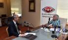 Başkan Okay TRT Çukurova'nın Konuğu Oldu