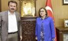 Başkan Şahin'den Başkan Erkoç'a Ziyaret