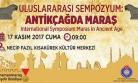 Büyükşehir'den 'Antikçağda Maraş' Sempozyumu
