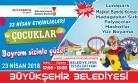 Büyükşehir'den Çocuklara Özel 23 Nisan