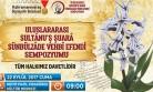 Büyükşehir'den Uluslarası Sultanu's Şuara Sempozyumu