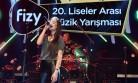 Kipaş ÇPL  Fizy 20. Liselerarası Müzik Yarışması'nda