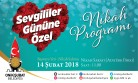 Onikişubat Belediyesi 14 Şubat Sevgililer Günü'nde Nikah Programı Düzenliyor