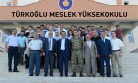 Rektör Deveci, KSÜ Türkoğlu Yerleşkesinde İncelemelerde Bulundu