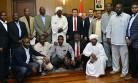 Sudan'lı Heyetten Başkan Erkoç'a Ziyaret