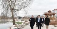 Başkan Erkoç Elbistan'da İncelemelerde