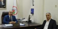 Başkan Kozak'tan Ticaret İl Müdürü