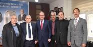 Başkan Mahçiçek, CHP ve MHP İl Başkanlarını