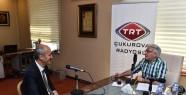 Başkan Okay TRT Çukurova'nın Konuğu