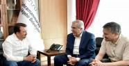 Rektör Can, Başkan Erkoç'u Ziyaret