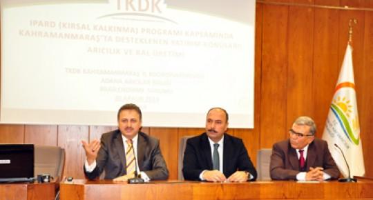 TKDK Adana Arı Yetiştiricileri Birliği İle Buluştu