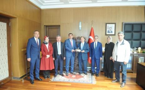Türkiye İsrafı Önleme Vakfı'ndan Teşekkür Ziyareti