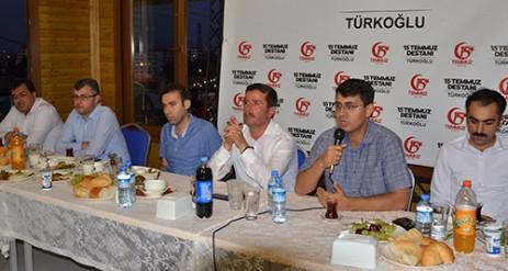 Türkoğlu'nda Şehit Aileleri ve Gaziler Onuruna Yemek Verildi