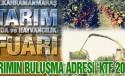 """Tarım Sektörünün Buluşma Adresi """"KTF 2017"""""""