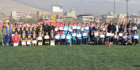 Yıldız Kızlar Futbol İl Birinciliği Turnuvası Tamamlandı