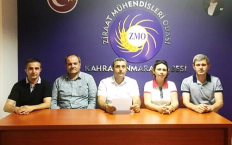 ZMO Kahramanmaraş Şubesine Akademisyen Aday