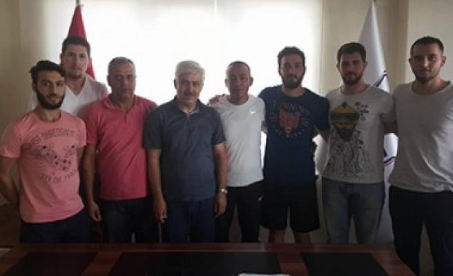 1920 Maraşspor 5 Sporcuyla Sözleşme İmzaladı