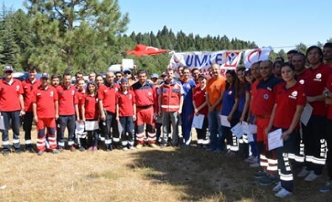 2016 Yılı UMKE Kampı Başkonuş'ta Yapıldı