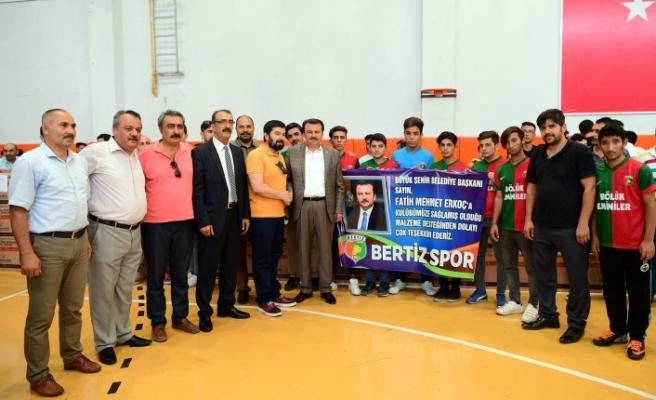 Büyükşehir'den Spora Dev Destek