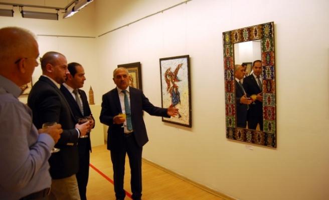 SANKO Sanat Galerisi'nde Mozaik Sergisi