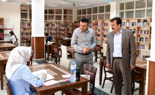 Başkan Erkoç: Dünyanın En Büyük Kütüphanelerinden Birini Kahramanmaraş'a Kazandıracağız