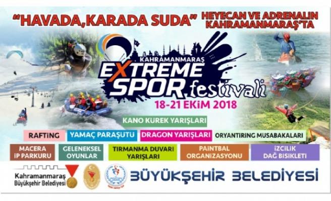 Büyükşehir'den Ekstrem Spor Festivali