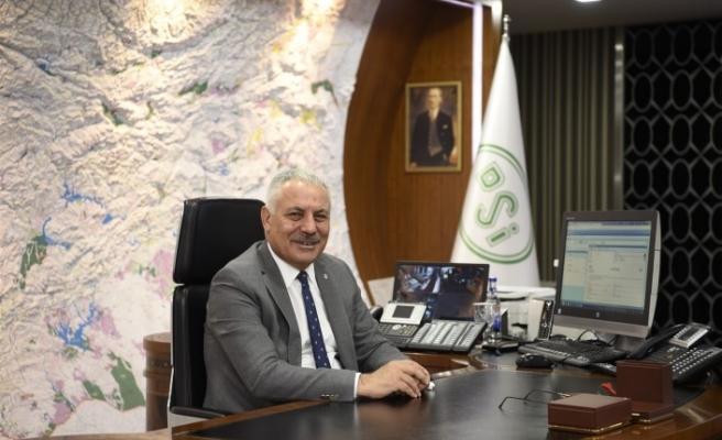 DSİ Genel Müdürü Aydın, Arazi Toplulaştırmasında Hedef 8,5 Milyon Hektar