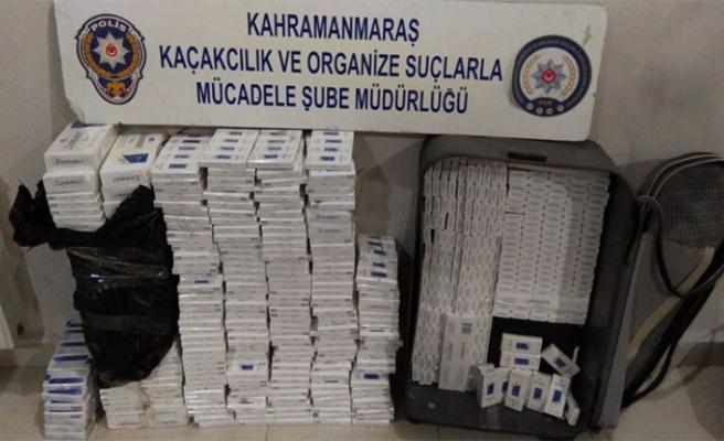 Gaziantep-Kahramanmaraş Karayolunda Kaçak Sigara Operasyonu