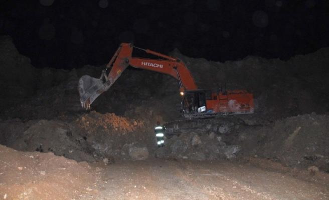 Elbistan'da Kışlaköy Kömür Havzası'nda Göçük