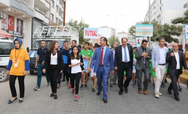 Pazarcık'ta Amatör Spor Haftası Etkinlikleri Başladı