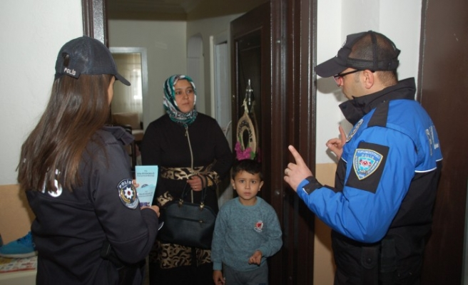 Aman Dikkat! Polis Hırsızlık Olaylarına Karşı Uyardı