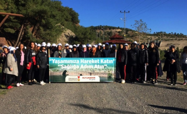 Büyükşehir'den Kadınlara Yürüyüş